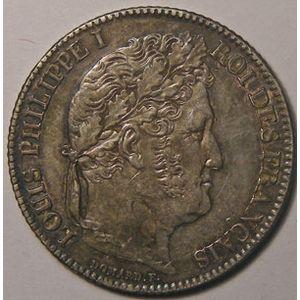 Photo numismatique Monnaies Françaises 1 Franc Gadoury 453. Louis-Philippe I