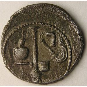 Photo numismatique Monnaies Empire Romain JULES CESAR (100-44Av JC) Denier
