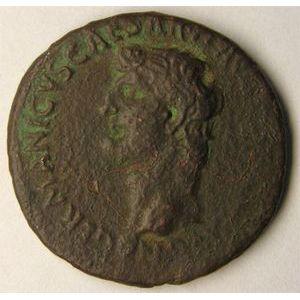 Photo numismatique Monnaies Empire Romain GERMANICUS (15Av JC-19Ap JC) As