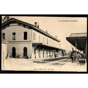 54 - PONT A MOUSSON (Meurthe et Moselle) - La Gare - La Lorraine Illustrée