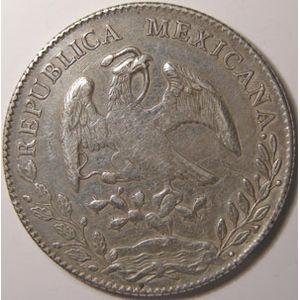 Photo numismatique Monnaies Etrang�res Mexique 8 Reales