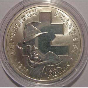 Photo numismatique Monnaies Françaises Monnaies commémoratives Gadoury C39. Jean Moulin