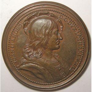 Photo numismatique Monnaies Lorraine Médailles de Lorraine Médailles des Ducs de Lorraine