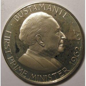 Photo numismatique Monnaies Etrangères Jamaique 1 Dollar