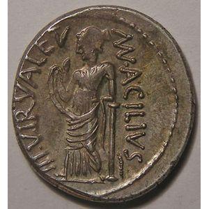 Photo numismatique Monnaies République Romaine M. ACILIUS GLABRIO Denier