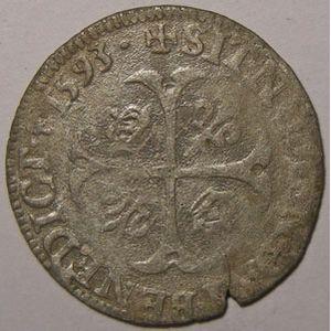 Photo numismatique Monnaies Royales Françaises HENRI IV (1589-1610) Douzain