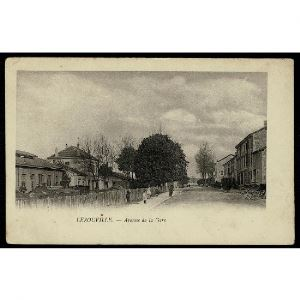 55 - LEROUVILLE (Meuse) - Avenue de la Gare