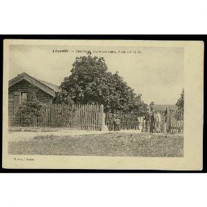 55 - LEROUVILLE (Meuse) - Caserne du 154e d'Infanterie, Porte Principale
