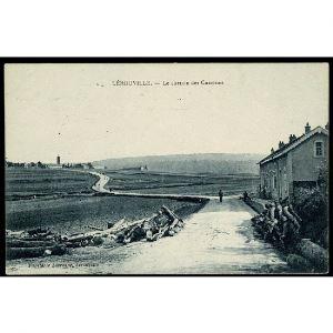 55 - LEROUVILLE (Meuse) - Le Chemin des Casernes