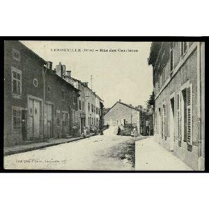 55 - LEROUVILLE (Meuse) - Rue des Carrières