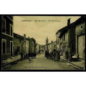 55 - LEROUVILLE (Meuse) - Rue Nationale - Côté Commercy
