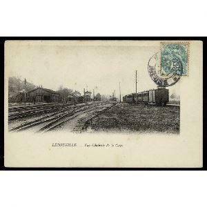 55 - LEROUVILLE (Meuse) - Vue Générale de la Gare