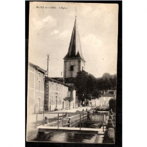 55 - MAXEY SUR VAISE (Meuse) - L'Eglise