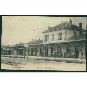 55 - REVIGNY  (Meuse) - La Gare - Vue Intérieure