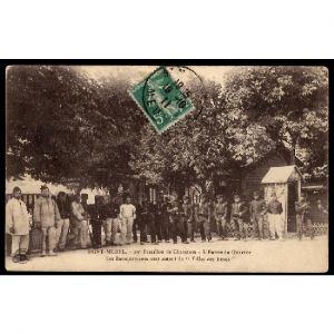 55 - SAINT MIHIEL (Meuse) - 29e Bataillon de Chasseurs - L'Entrée du Quartier Villas de Roses