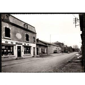 55 - SPINCOURT (Meuse) - Rue du Faubourg - Les Coopérateurs