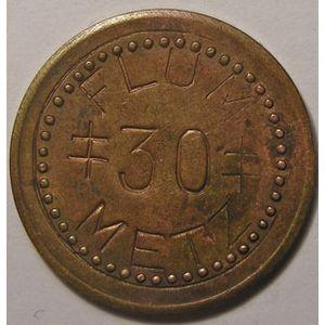 Photo numismatique Monnaies Monnaies et jetons de nécessité Metz