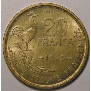Photo numismatique Monnaies Françaises Essais 20 Francs