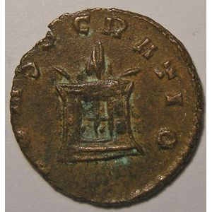 Photo numismatique Monnaies Empire Romain CLAUDE II (268-270) Antoninien