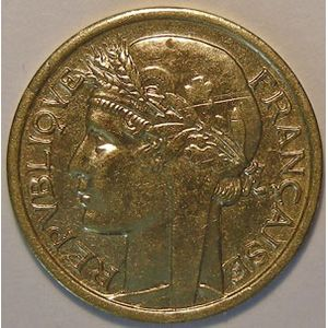 Photo numismatique Monnaies Etrang�res Afrique Occidentale Fran�aise 50 Centimes