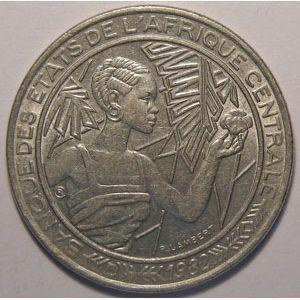 Photo numismatique Monnaies Etrang�res Afrique centrale 500 Francs