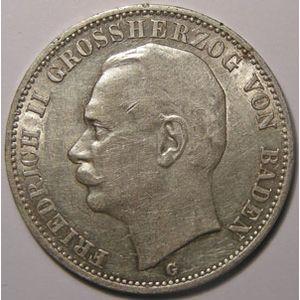 Photo numismatique Monnaies Etrang�res Allemagne Baden