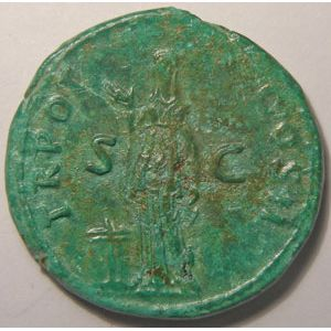 Photo numismatique Monnaies Empire Romain TRAJAN (98-117) As