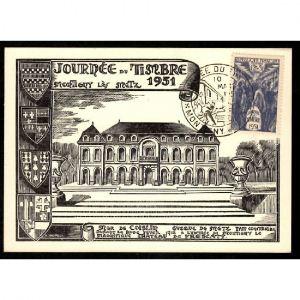 57 - Journée du Timbre - MONTIGNY LES METZ 1951