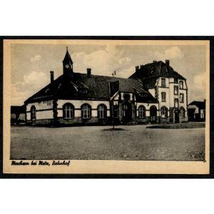 57 - MAIZIERES LES METZ (Moselle) - Ancienne Gare - Machern bei Metz, Bahnof