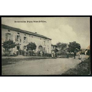 57 - MALLINGEN - MALLING - Restauration Eugen Scharff - Nilles