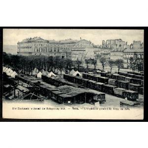 57 - METZ  (Moselle) - L'Esplanade pendant le Siège en 1870