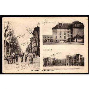 57 - METZ (Moselle) - Quartier Desvallières - Mulitivues