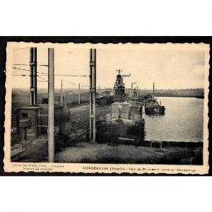 57 - MONDELANGE (Moselle) - Port de Richemont sortie Mondelange