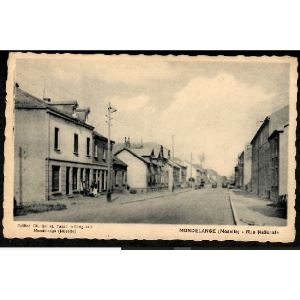 57 - MONDELANGE (Moselle) - Rue Nationale - Tabac - Droguerie - Ch. Gaillat