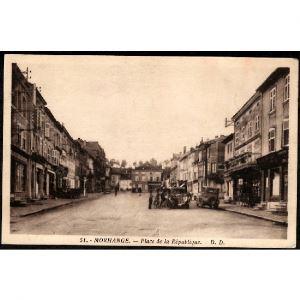 57 - MORHANGE (Moselle) - Place de la République