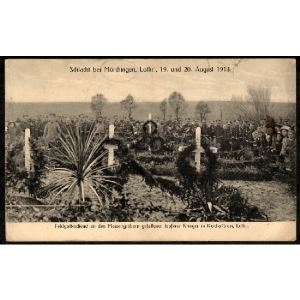 57 - MORHANGE (Moselle) - Schlacht bei Mörchingen, Lothr., 19. und 20. August 1914