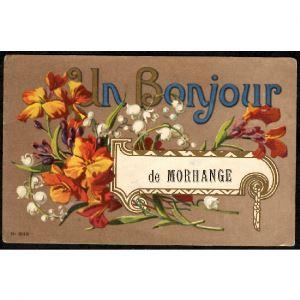 57 - MORHANGE (Moselle) - Un Bonjour de Morhange