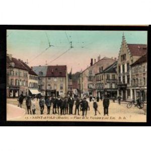 57 - SAINT AVOLD (Moselle) - Place de la Victoire (Côté EST)