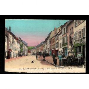 57 - SAINT AVOLD (Moselle) - Rue Général Hirschauer