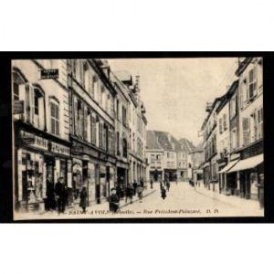 57 - SAINT AVOLD (Moselle) - Rue Président Poincaré