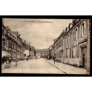 57 - SAINT AVOLD  - Rue Général Hirschauer