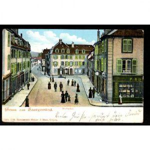 57 - SARREGUEMINES -  Gruss aus Saargemünd - Marktplatz
