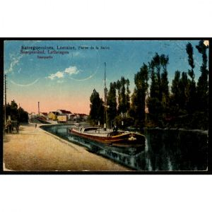 57 - SARREGUEMINES -  Lorraine - Partie de la Sarre