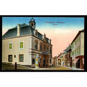 57 - SARREGUEMINES -  Saargemünd - Mairie - Rathaus