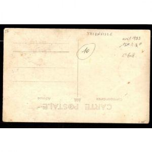 57 - THIONVILLE - Carte Photo - Soldats 151e R. - Avril 1933 - Militaires