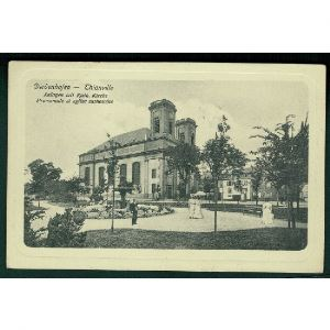 57 - THIONVILLE - Diedenhofen - Promenade et Eglise Catholique - Anlagen mit Kath. Kirche