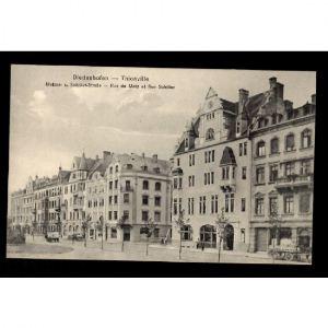 57 - THIONVILLE - DIEDENHOFEN - Rue de Metz et Rue Schiller