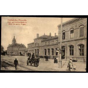 57 - THIONVILLE - Hôtel des Postes et Gare - Diedenhofen - Post und Bahnhofsgebäude