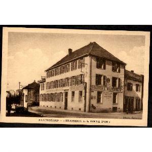 57 - THIONVILLE (Moselle)  - BEAUREGARD - Brasserie de la Boule d'Or - Brasserie Welferinger