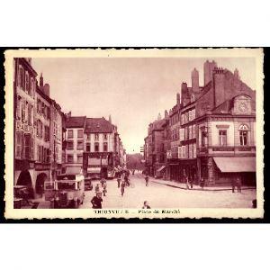 57 - THIONVILLE (Moselle)  - Place du Marché